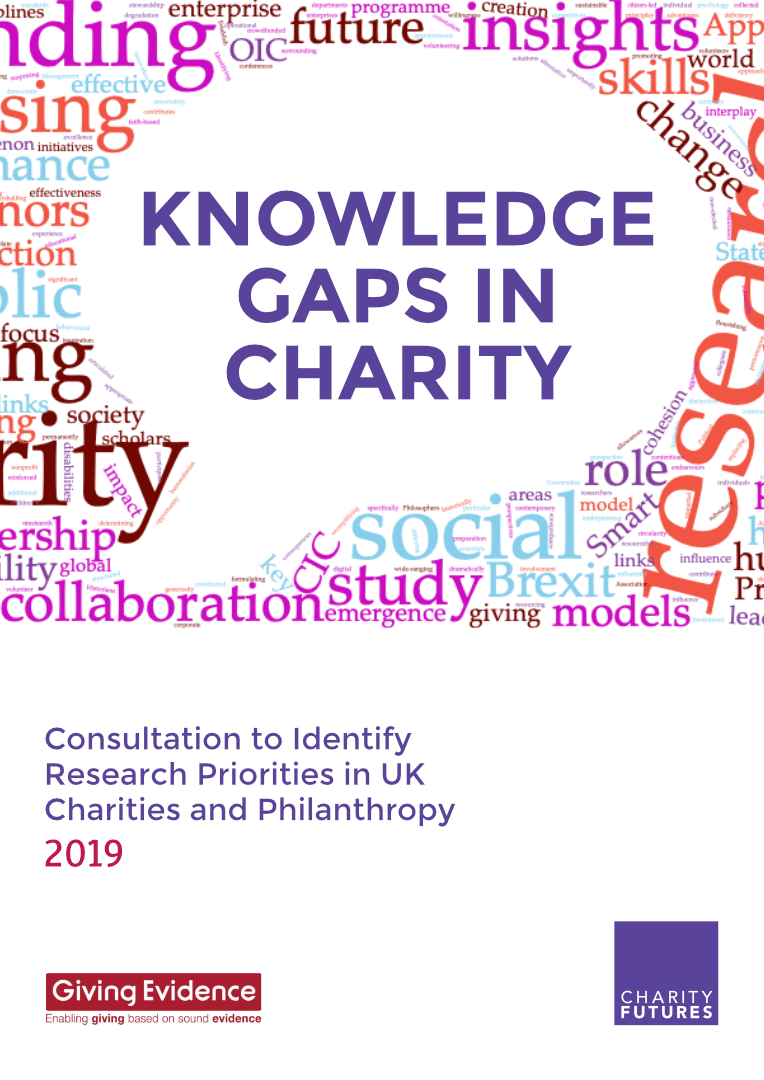 Charity Knowledge Gaps