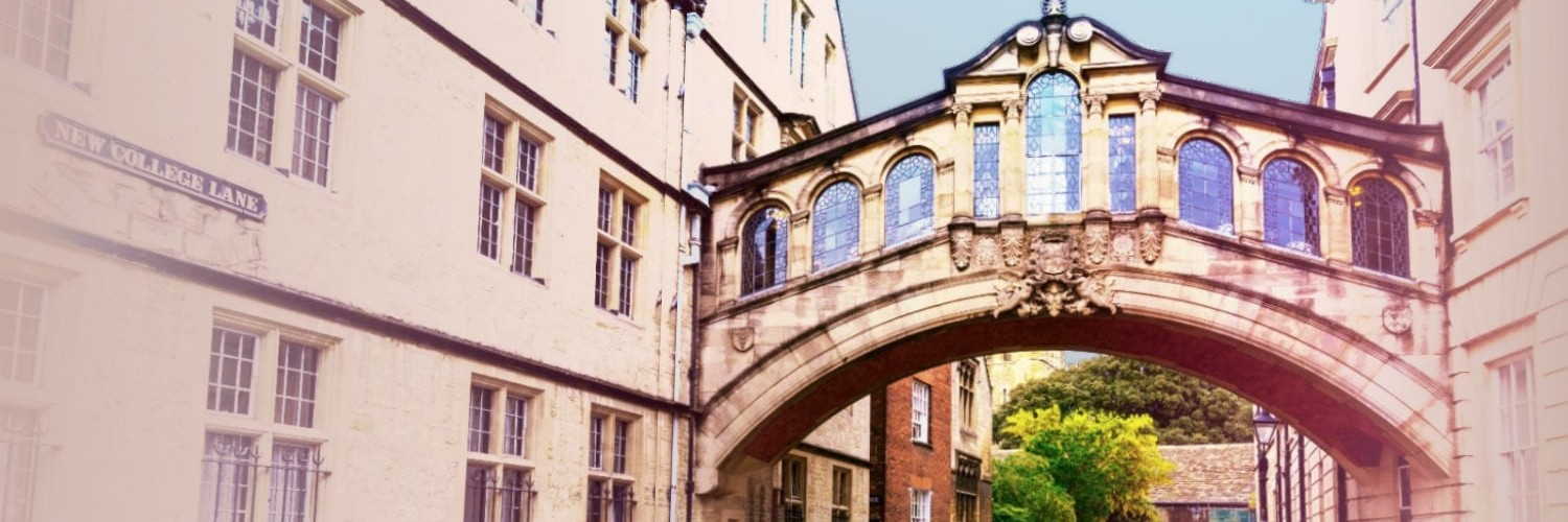 Bridge between Oxford universities