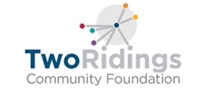 logo for two ridings community foundation